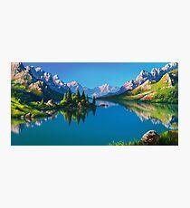 North America Landscape Photographic Print