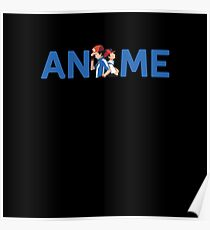 """""""Anime"""" Pokemon - Ash Ketchum Poster"""