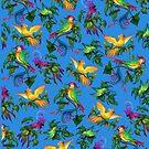 • Beautiful Birdies • exclusive Hi-Res pattern by Ldarro