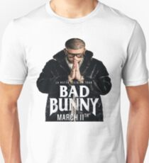 bad bunny hot design word tour 2018 Unisex T-Shirt