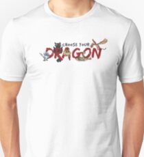 Choose your Dragon! Unisex T-Shirt