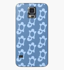 Squirtle Pattern Case/Skin for Samsung Galaxy