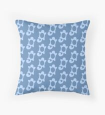 Squirtle Pattern Throw Pillow