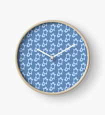 Squirtle Pattern Clock