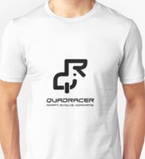 QuadRacer - Black Unisex T-Shirt