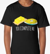 You Complete Me Butter and Corn Long T-Shirt