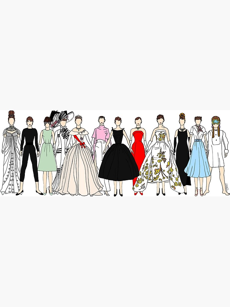 Audrey Group Fashion by notsniwart