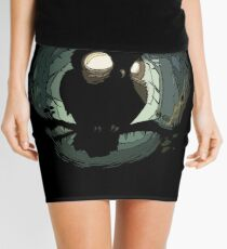 NIGHT OWL Mini Skirt
