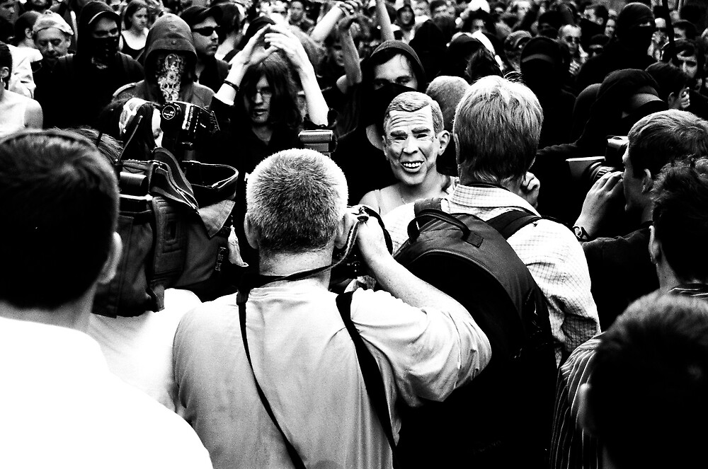g8 protests, Edinburgh by nick1978