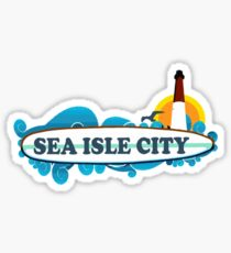 Sea Isle - New Jersey. Sticker