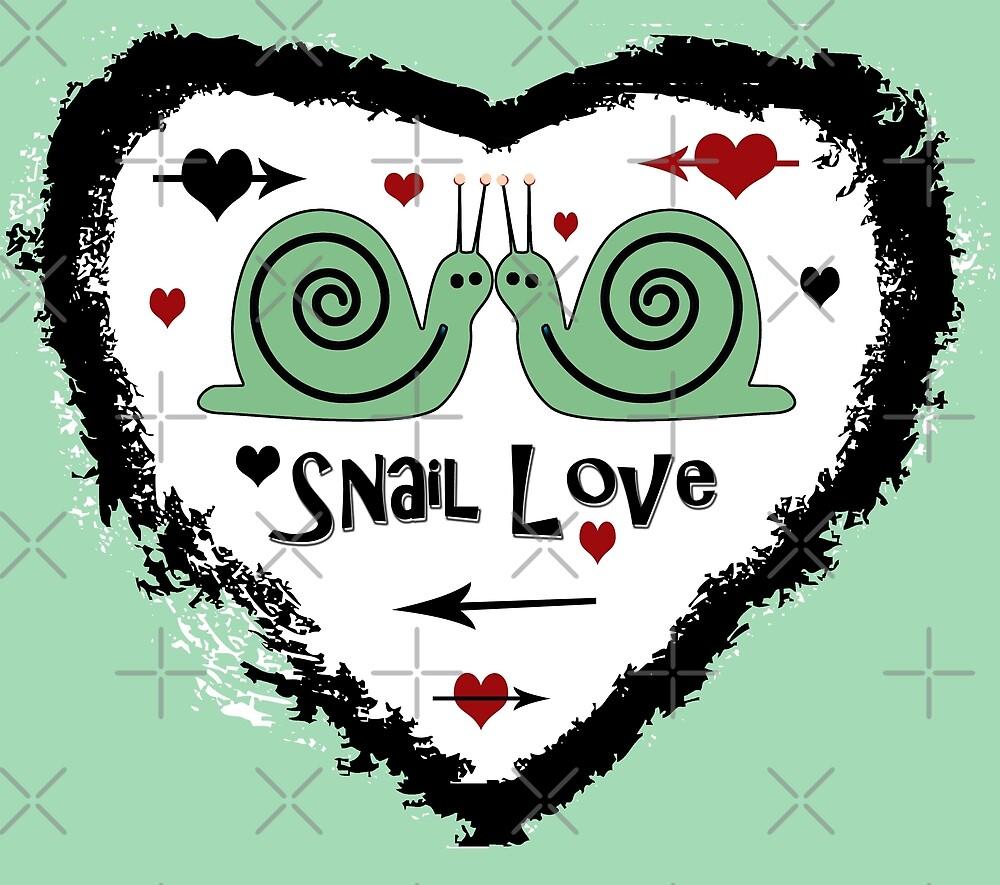 Snail Love by CarolM