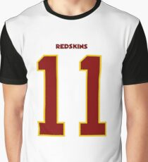 Alex Smith Washington Redskins Graphic T-Shirt