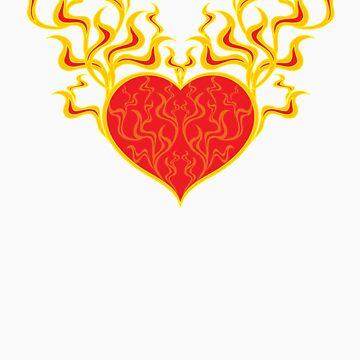 Burning Heart by liquidentity
