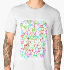 Colourful HeArts  - JUSTART © Men's Premium T-Shirt