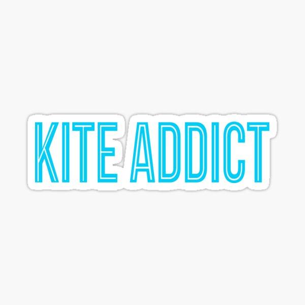 kite addict Sticker