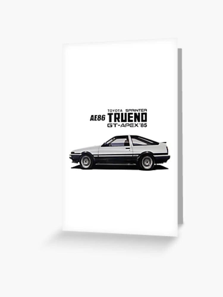 COROLLA AE86 Sprinter Trueno GT Apex JDM LIFE Decal Sticker Graphic