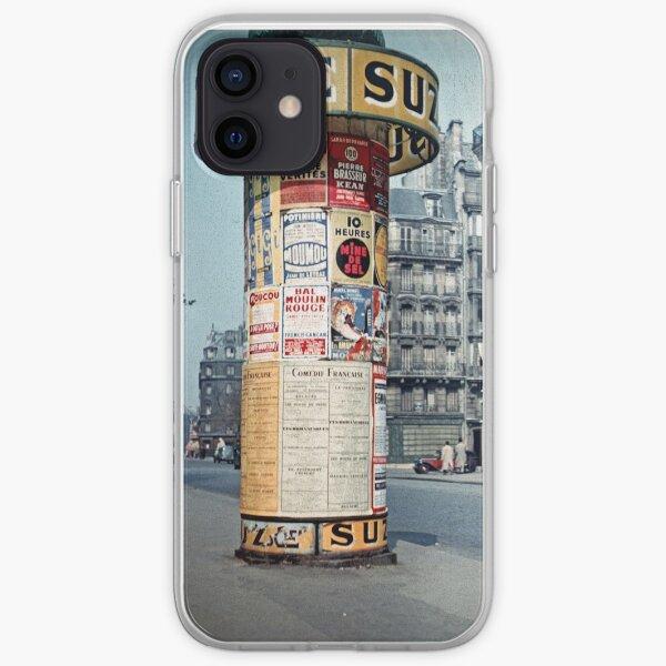 Vintage Paris Street Life 1956 SUZE Coque souple iPhone