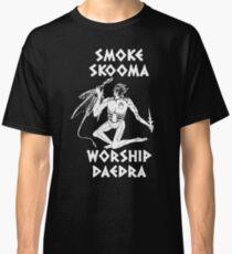 Smoke-skooma-worship-daedra Classic T-Shirt