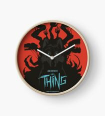 The Thing Classic Retro Poster Clock