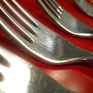 Red Forks by pwrighteous