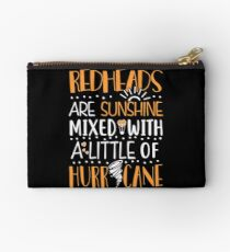 Redheads Are Sunshine Mixed With a Little Of Hurricane Studio Pouch
