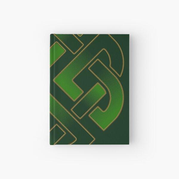 Irish Celtic Knot Shield Legendary Symbols Hardcover Journal