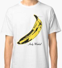 Andy Warhol Banana Velvet Underground Classic T-Shirt