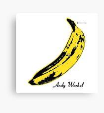 Andy Warhol Banana Velvet Underground Canvas Print