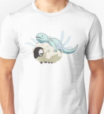Ancient Magus Bride Axolotl and Sheep Unisex T-Shirt