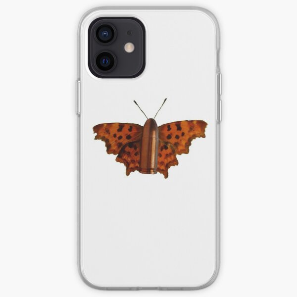 Bullet With Butterfly Wings iPhone Soft Case