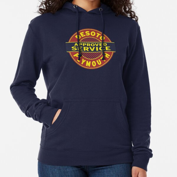 DeSoto Plymouth Approved Service Lightweight Hoodie