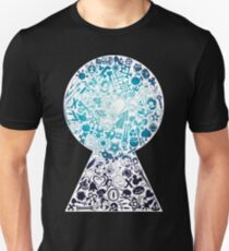 Kingdom Hearts - Keyhole (blue) T-Shirt