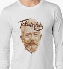 Tchaikovsky - classical music composer Long Sleeve T-Shirt