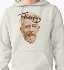 Tchaikovsky - classical music composer Pullover Hoodie