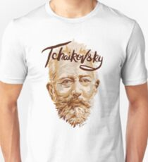 Tchaikovsky - classical music composer T-Shirt