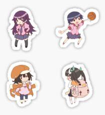 Bakemonogatari pack 2 Sticker