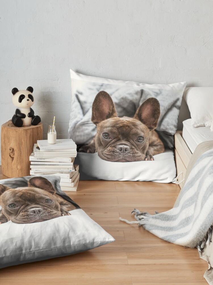 Alternate view of French Bulldog Floor Pillow
