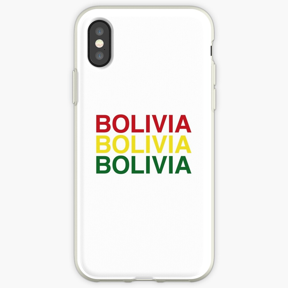BOLIVIA iPhone-Hülle & Cover