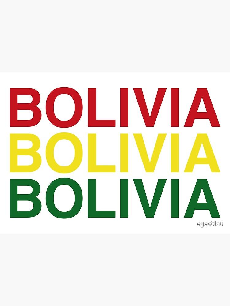 BOLIVIA von eyesblau