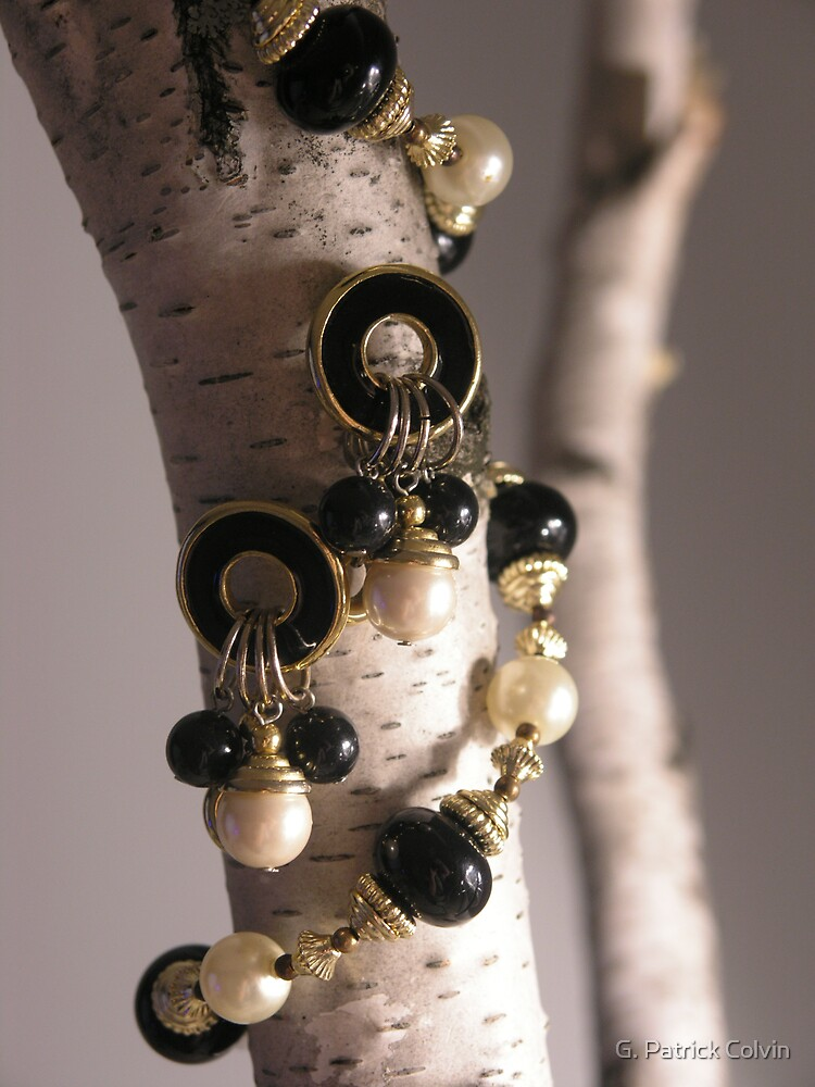 Black & Gold Necklace #2 by Gregory Colvin