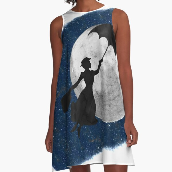 Mary Poppins A-Line Dress