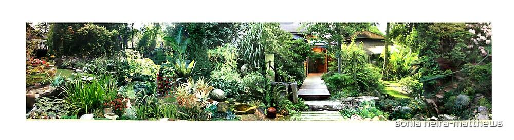 Landscape garden 5 by sonia neira-matthews