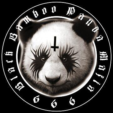 Black Bamboo Panda Mafia by chilangopride