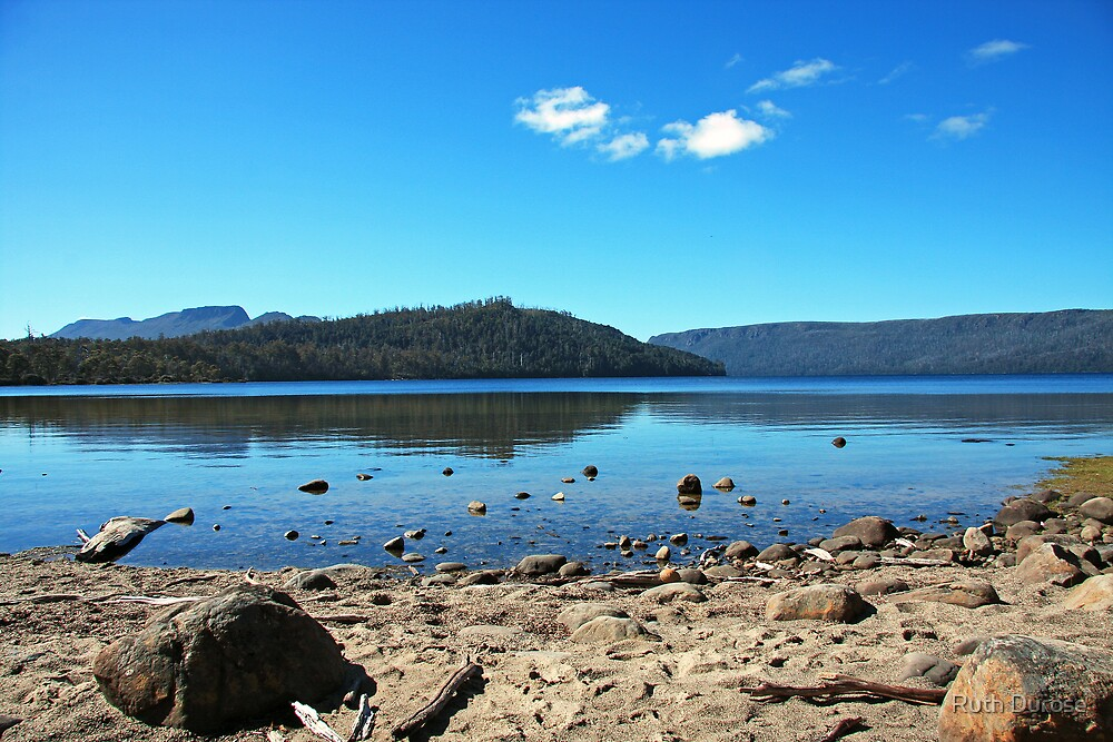 Summer Afternoon -  Lake St Clair, Tasmania by Ruth Durose