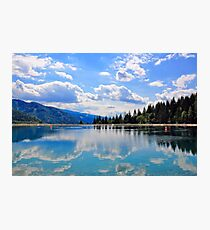 Summer Water Reflections Photographic Print