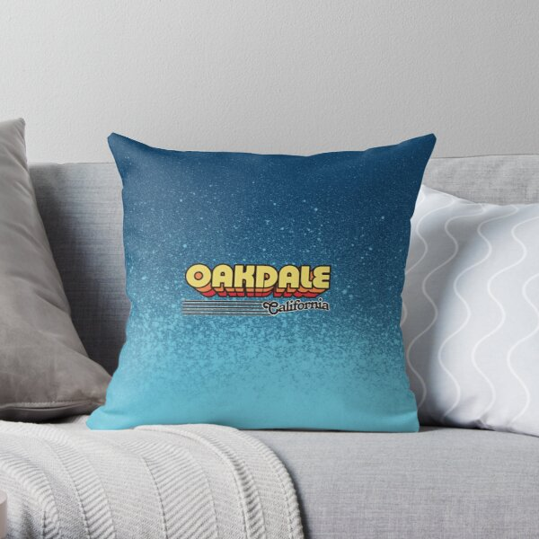 Oakdale California Pillows Cushions Redbubble