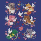 Cute Cupids by Dulcina