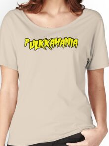 Pulkkamania! (yellow) Women's Relaxed Fit T-Shirt