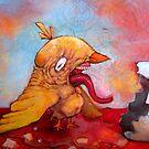 KFC Chick by KillerNapkins