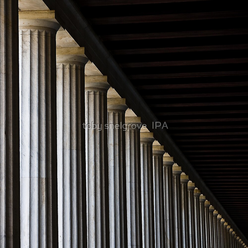 Pillars: Athens, Greece  by toby snelgrove  IPA